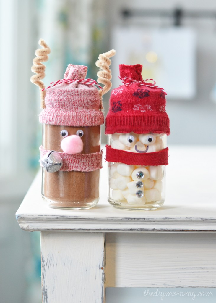 Baby food jars christmas gifts