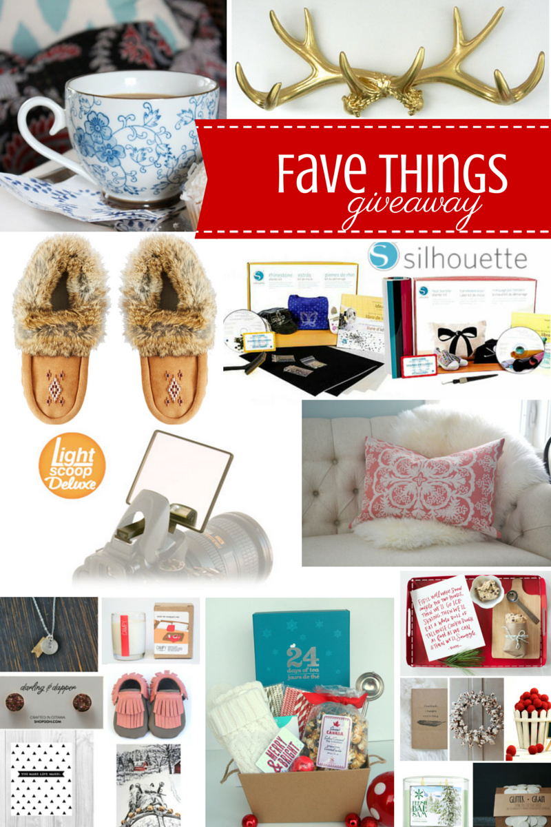 Our Favorite Things Holiday Giveaway