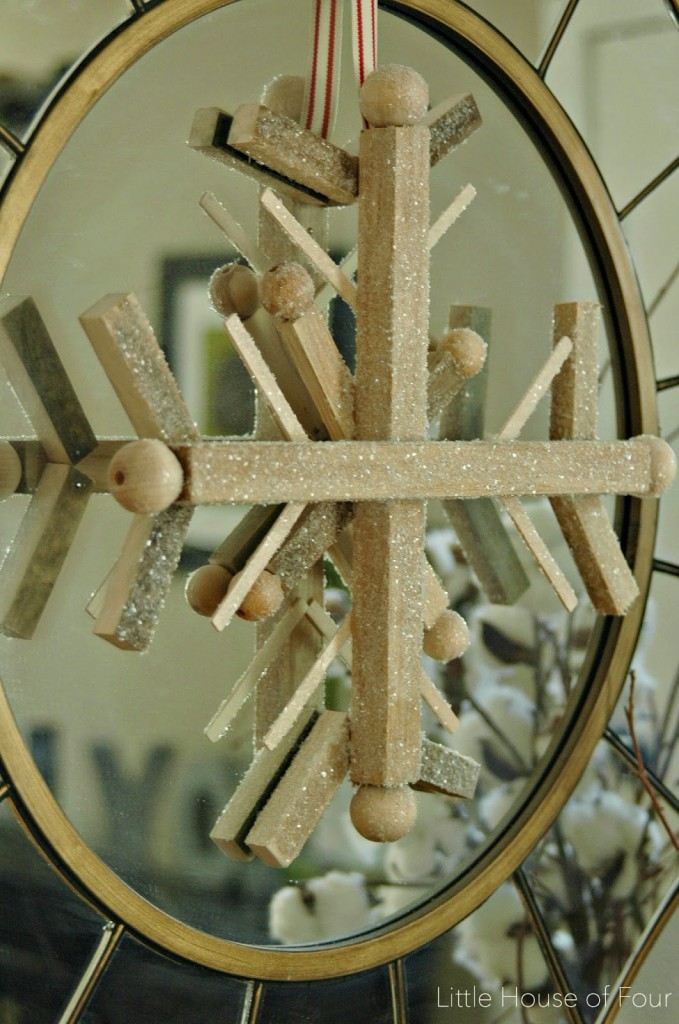 Wooden Snowflake from Scrap Wood