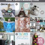 The 9 Favourite Posts of 2014 on The DIY Mommy: Lots of great sewing and home decor tutorials!