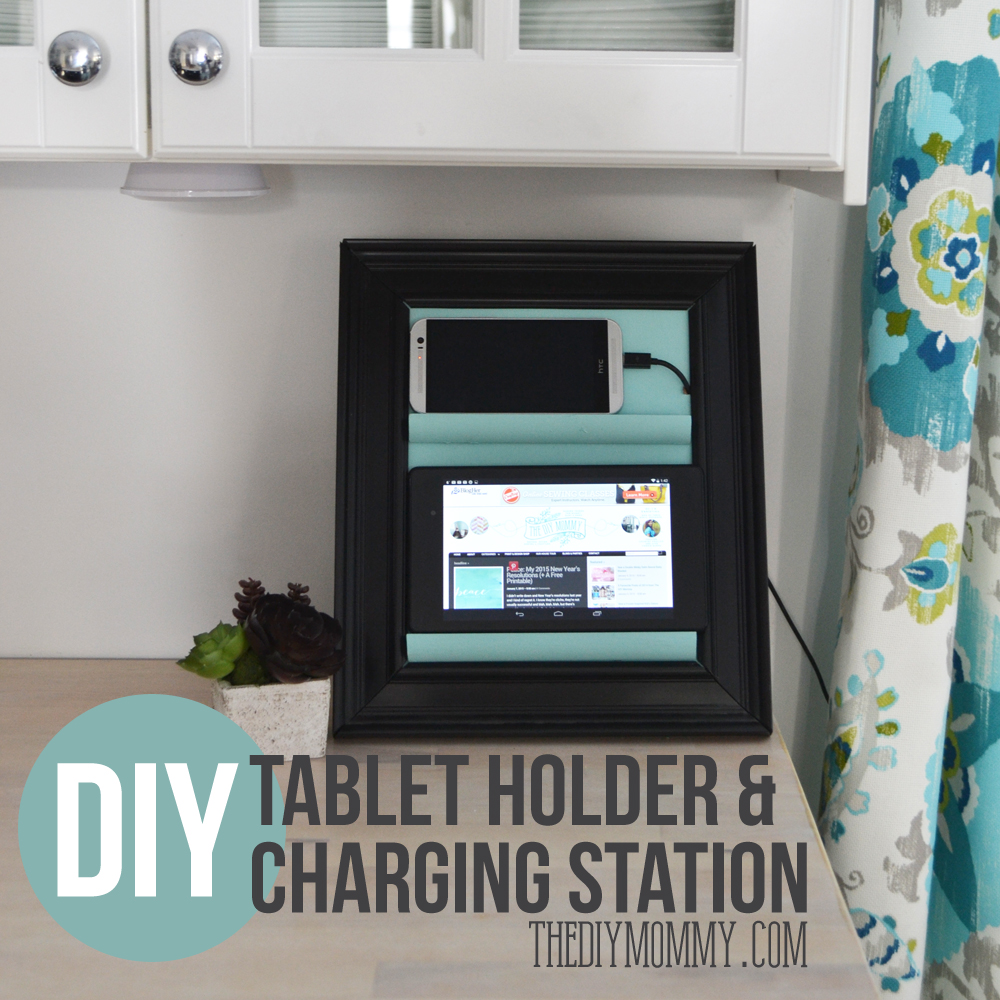 Make A Counter Top Phone Charging Station Amp Tablet Holder