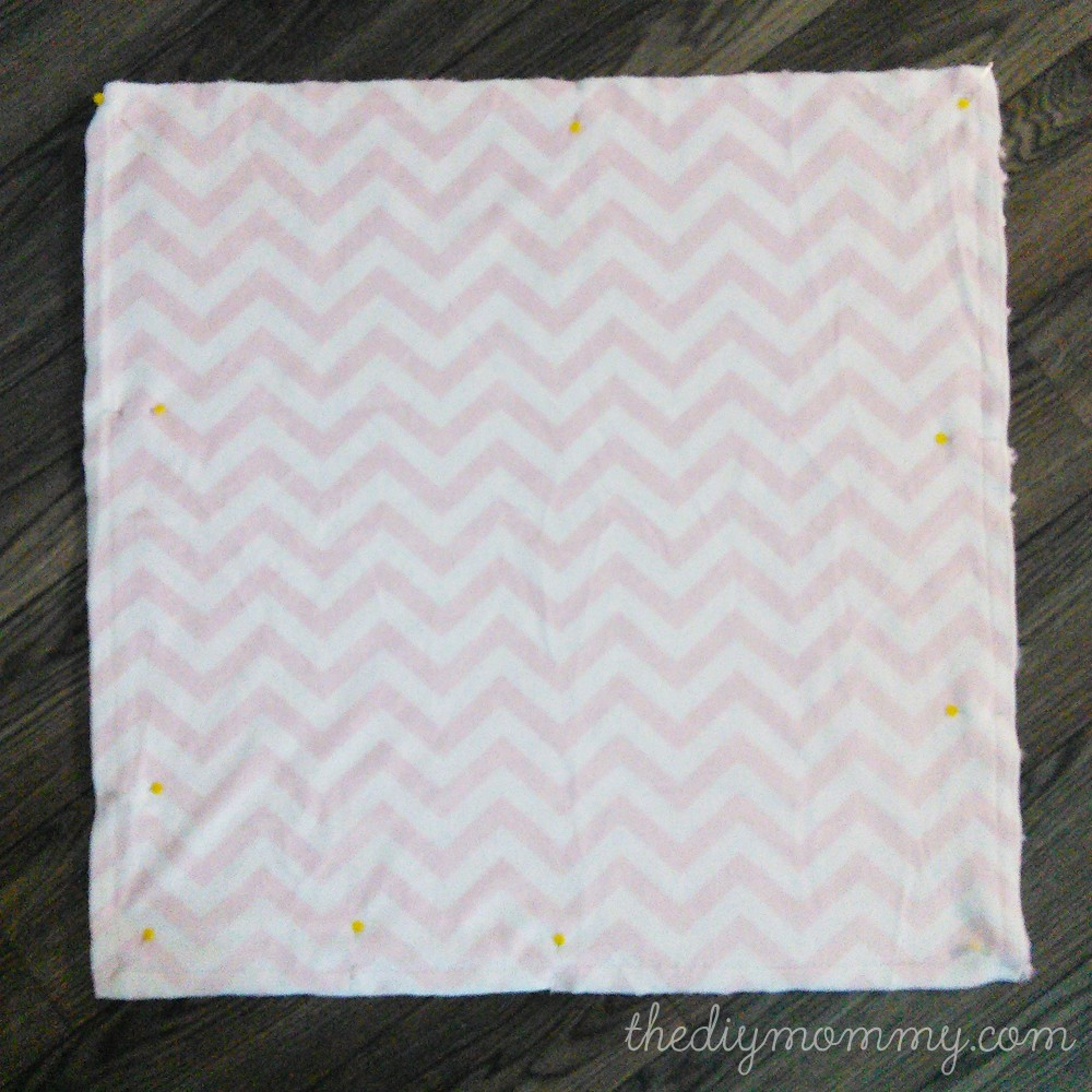 How to sew a baby blanket with minky fabric and satin binding | The ...