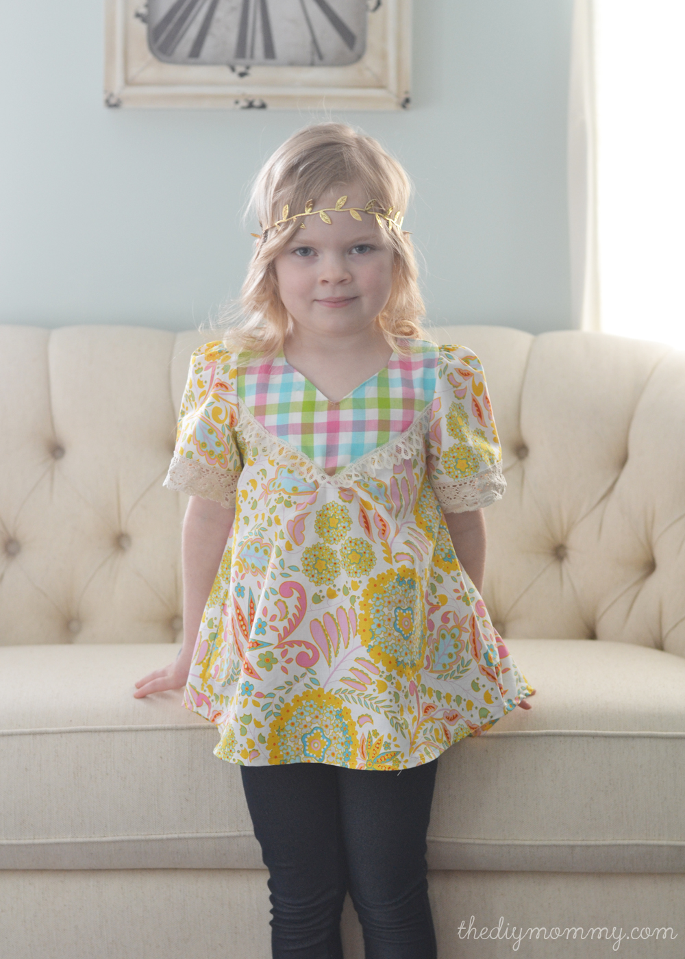 Wanderer Tunic Pattern Review by The DIY Mommy