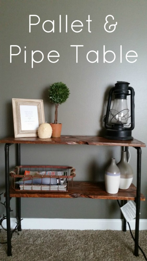 pallet-and-pipe-table