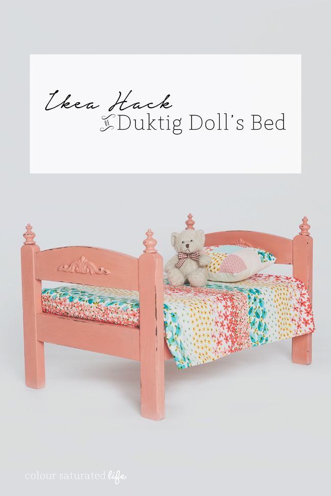 Ikea Hack Doll Bed