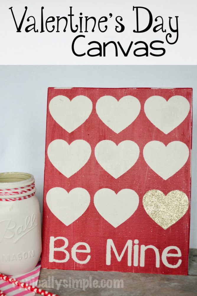 Valentine's Day Canvas Art