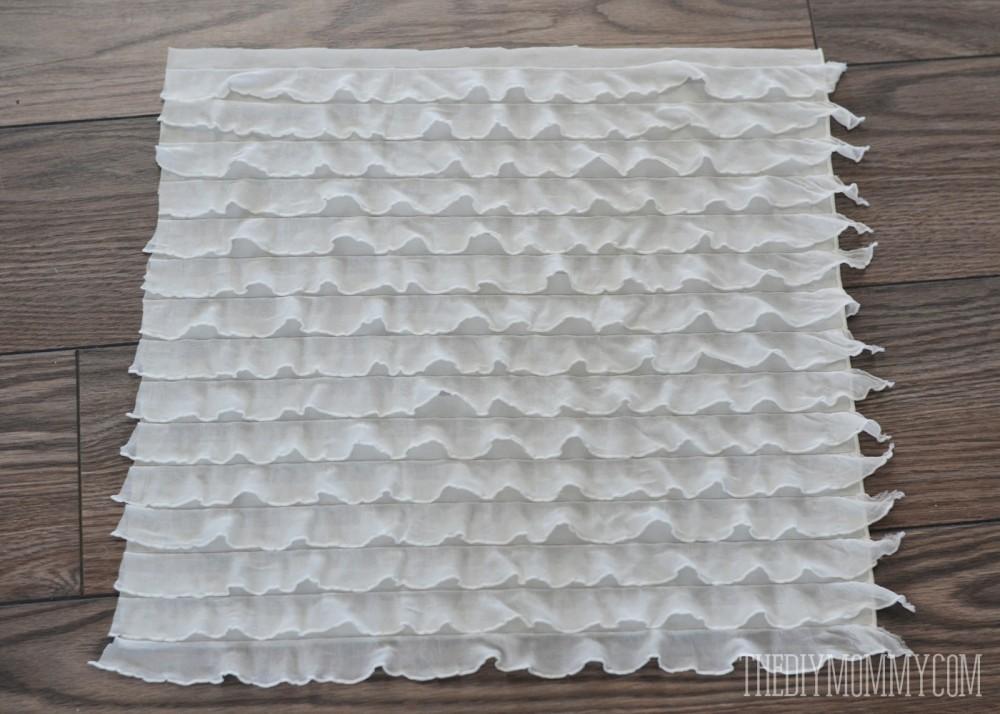 How to make an easy DIY ruffled petti romper