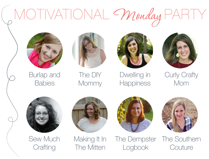 Motivational Monday DIY Link Party Hosts