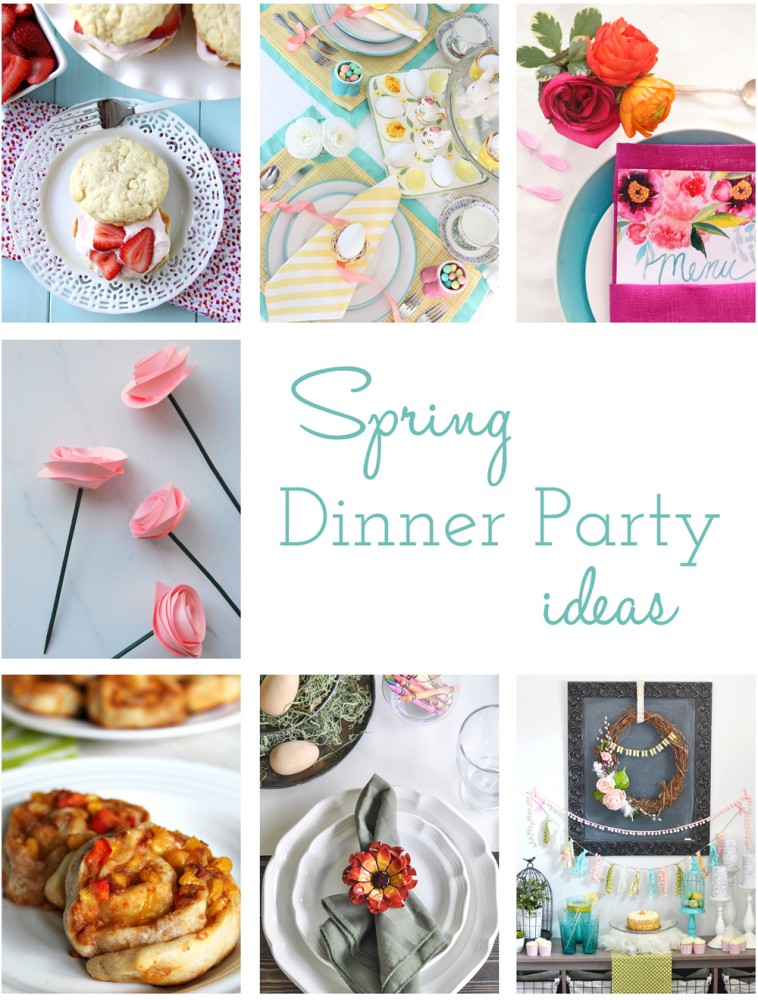 Spring Dinner Party Hop DIY Ideas