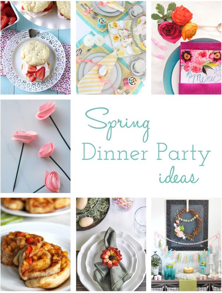 Spring Dinner Party Hop DIY Ideas