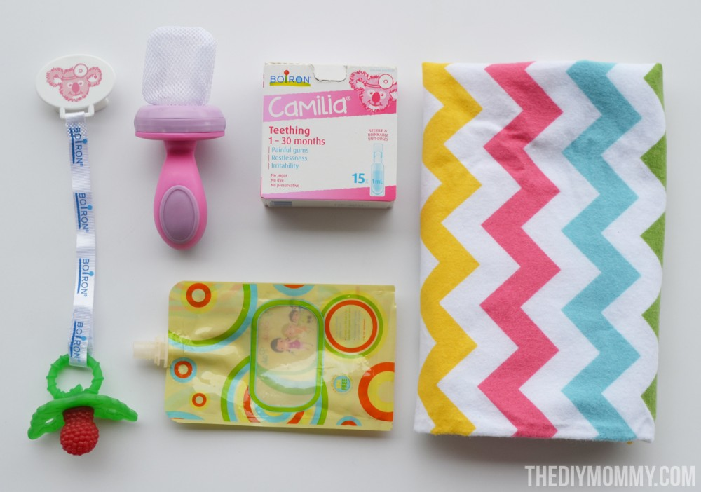 Teething Baby Survival Kit - what I've learned helps teething babies.