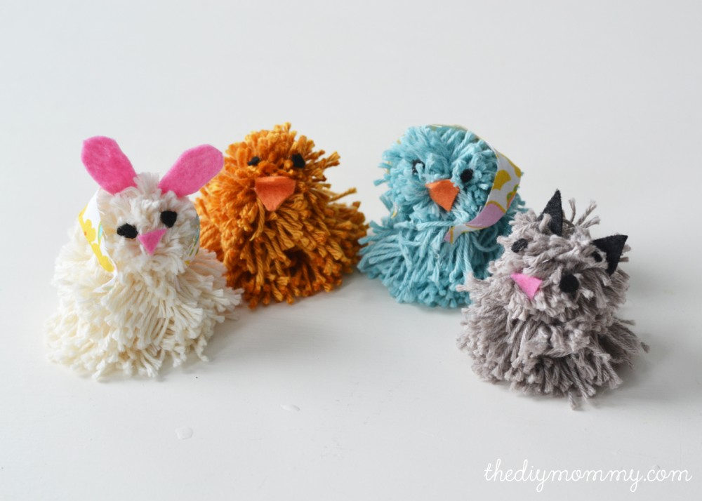 Pom pom animals bing images for Pom pom crafts