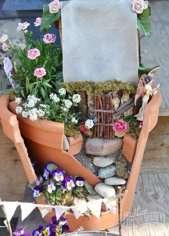 Make an Easy Inexpensive Fairy Garden The DIY Mommy