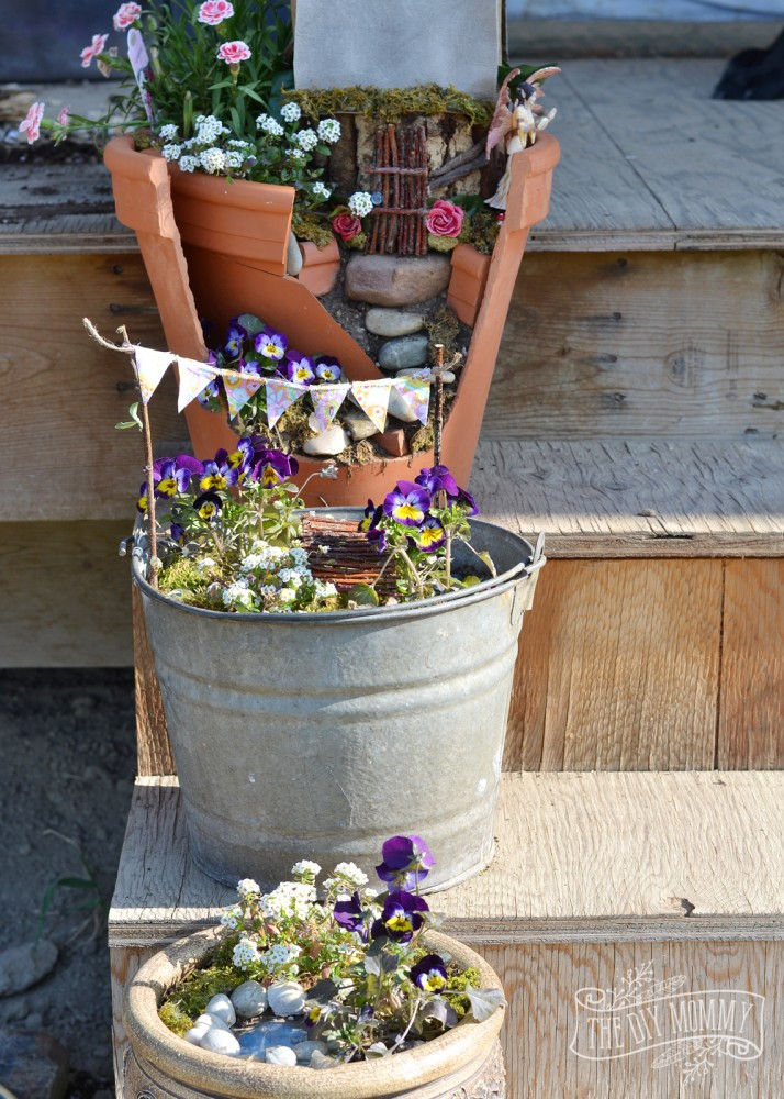 Make an Easy & Inexpensive Fairy Garden | The DIY Mommy