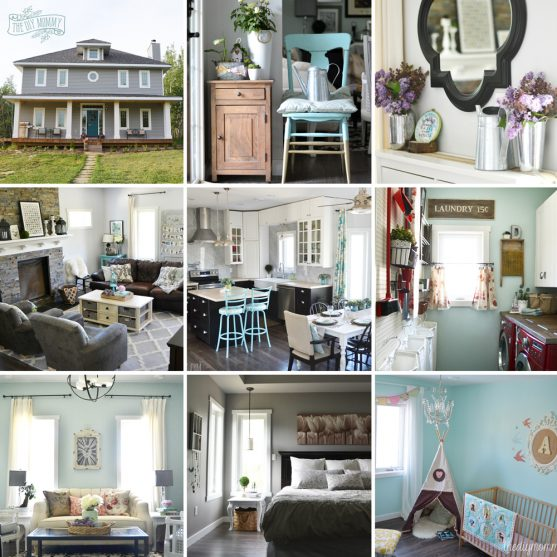 our diy house 2015 home tour - Pink Home 2015