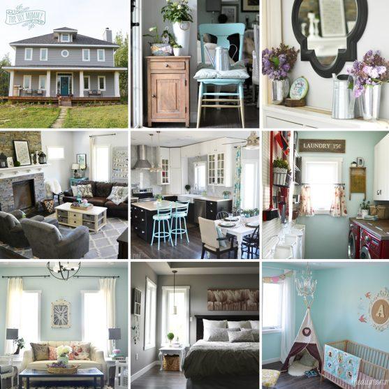 Our DIY House: 2015 Home Tour