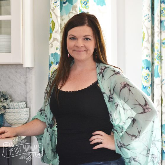 How to make a cute kimono shrug from a scarf in less than a minute!