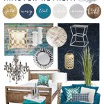Nautical Glam Master Suite design featuring Urban Barn - Western Canada's Next Home Stylist Competition.