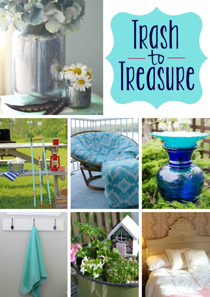 Trash to treasure DIY project ideas