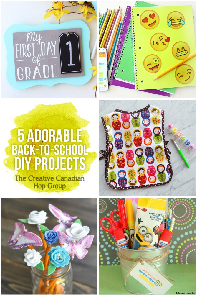 Back to School DIY Project Ideas