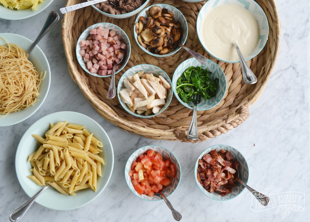 Family Supper Idea: A DIY Pasta Bar
