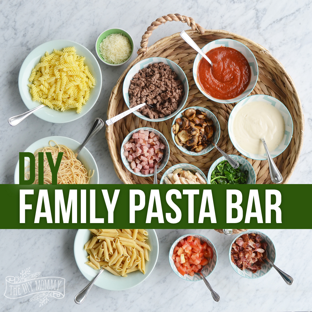 Make A Family Pasta Bar