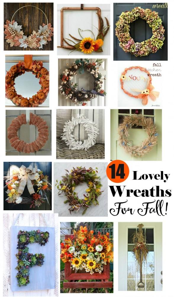 14 DIY Fall Wreath Ideas
