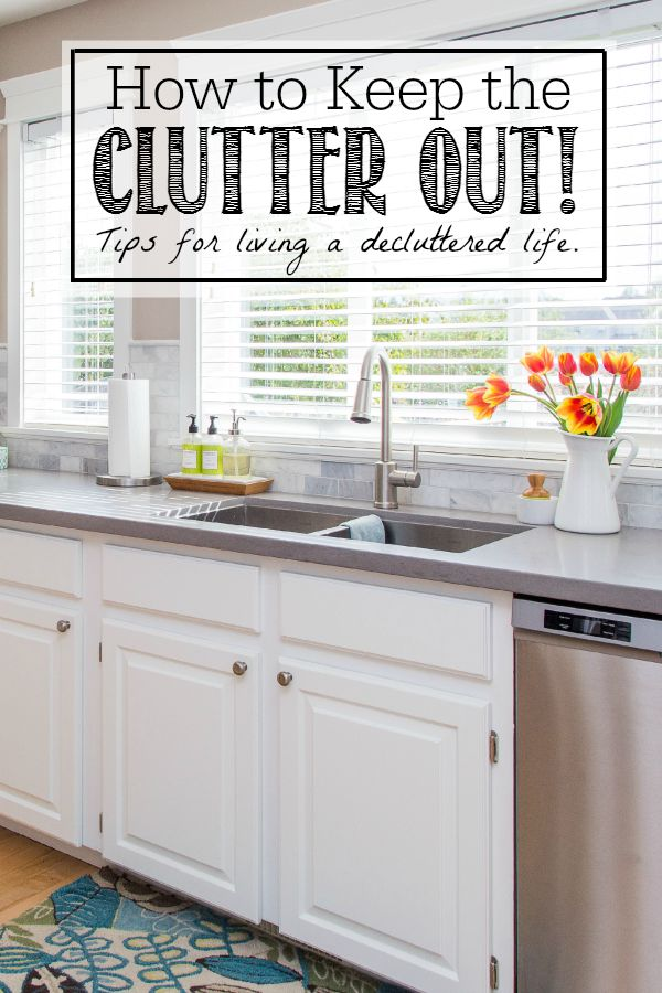 Home Declutter & Organization Tips