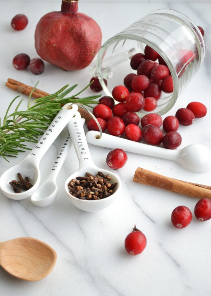 DIY Pomegranate and Cranberry Stovetop Potpourri