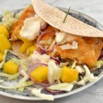 Make Battered Fish Tacos with Mango Lime Salsa