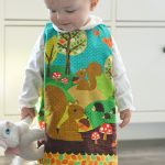 How to make a reversible baby jumper / dress + a FREE 24 month sewing pattern!