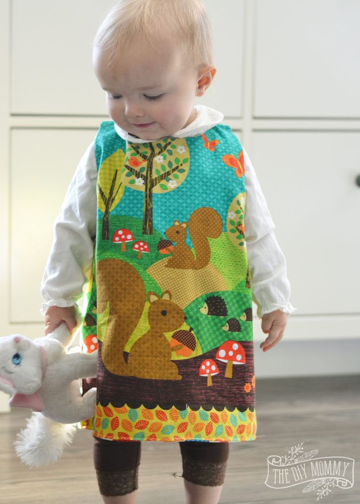How To Sew A Reversible Baby Jumper With A Free Pattern The Diy