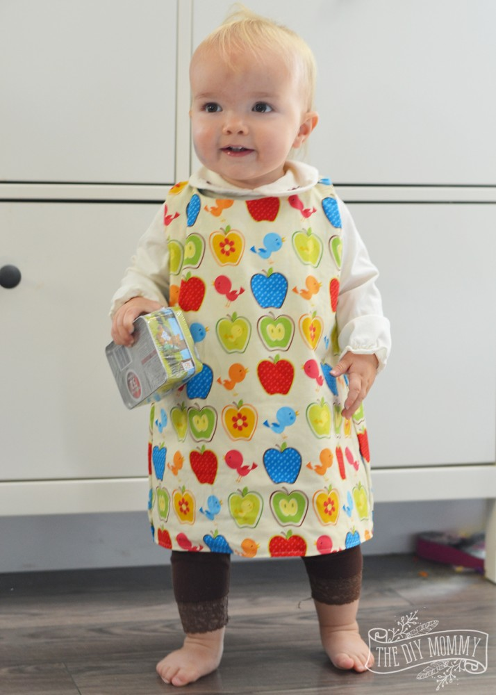 How To Sew A Reversible Baby Jumper With A Free Pattern