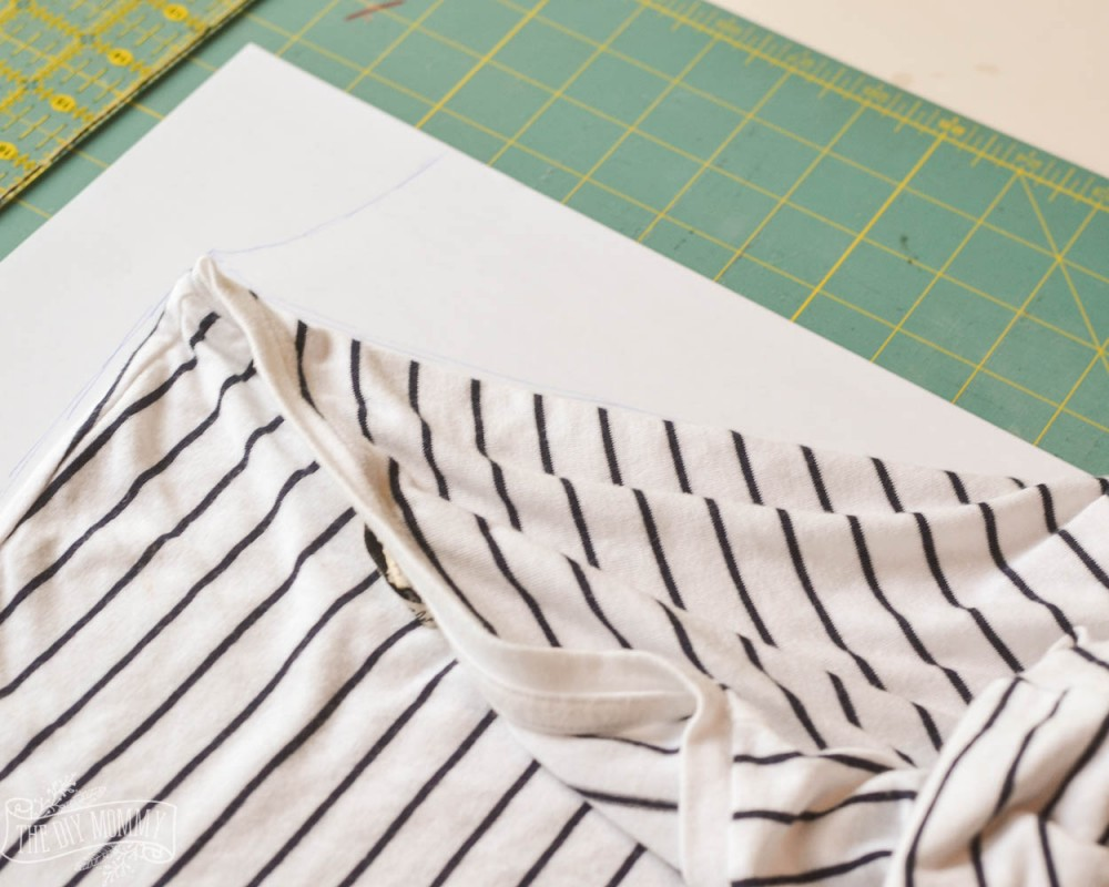 How to copy and sew your favourite t-shirt