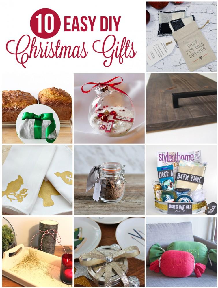 10 DIY Christmas Gift Ideas