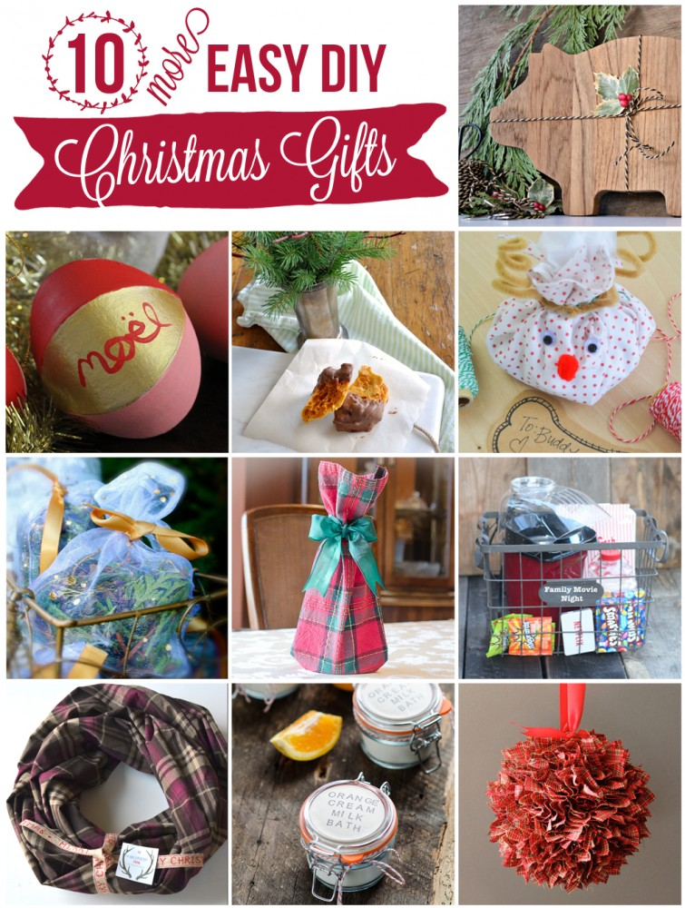 10 Beautiful DIY Christmas Gift Ideas