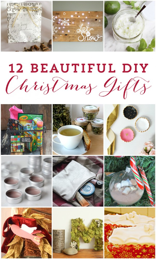 12 beautiful DIY Christmas gift ideas!