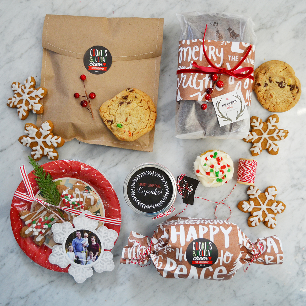 Creative ways to wrap Christmas baking - love these fun packaging ideas!