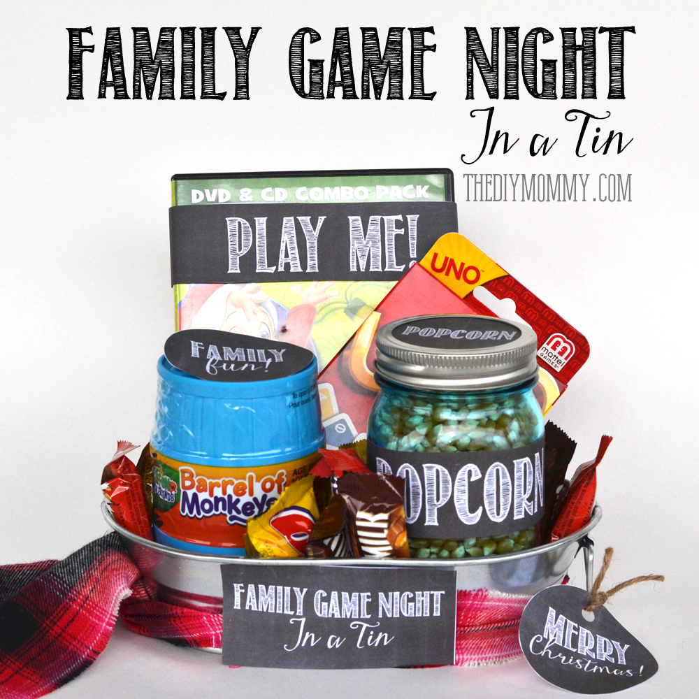 A Gift In Tin Family Game Night