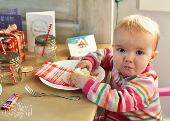 A Fun Kids Christmas Table Setting - there are some great ideas here featuring Stuck on You labels and tags!