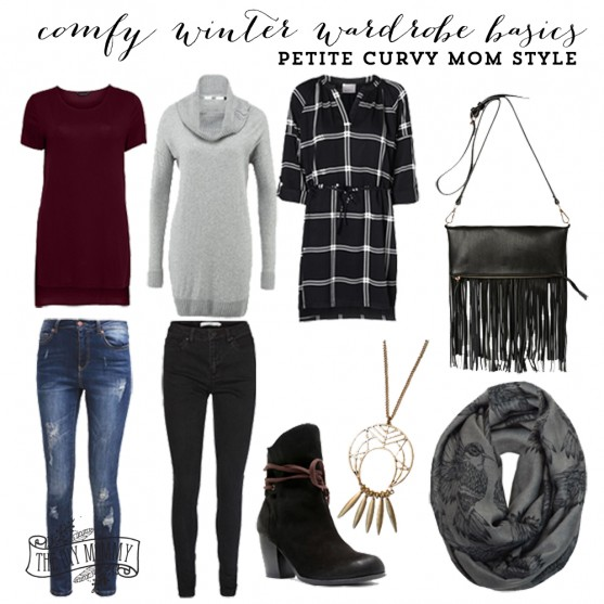 Comfy Winter Wardrobe Basics featuring Silver Icing
