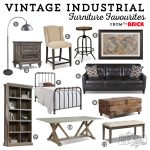 Beautiful Vintage Industrial Furniture Favourites from The Brick