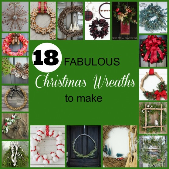 18 fabulous DIY Christmas wreath ideas