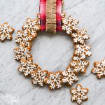 How to make a wreath out of gingerbread cookies. Great gift idea and great recipe!