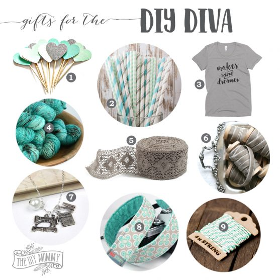 Gift ideas for DIY divas / craft lovers on your list!