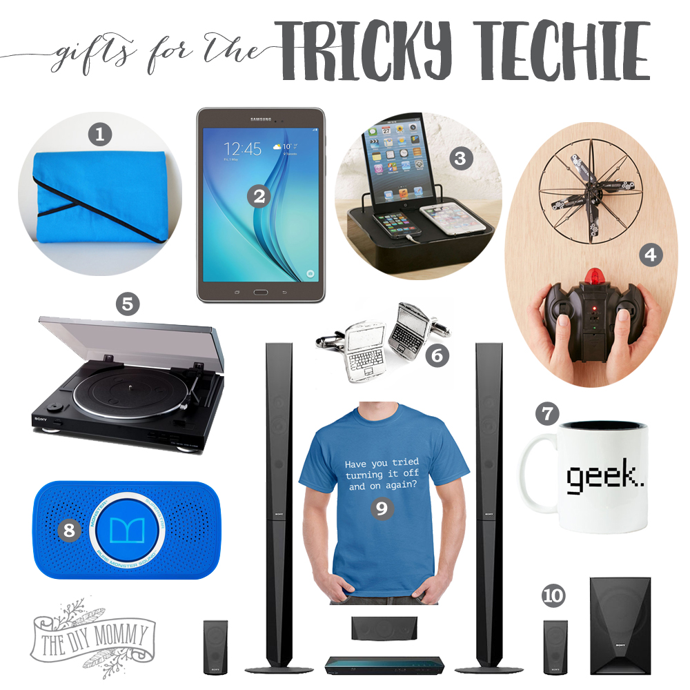 Gift ideas for techies / geeks / technology lovers on your list!