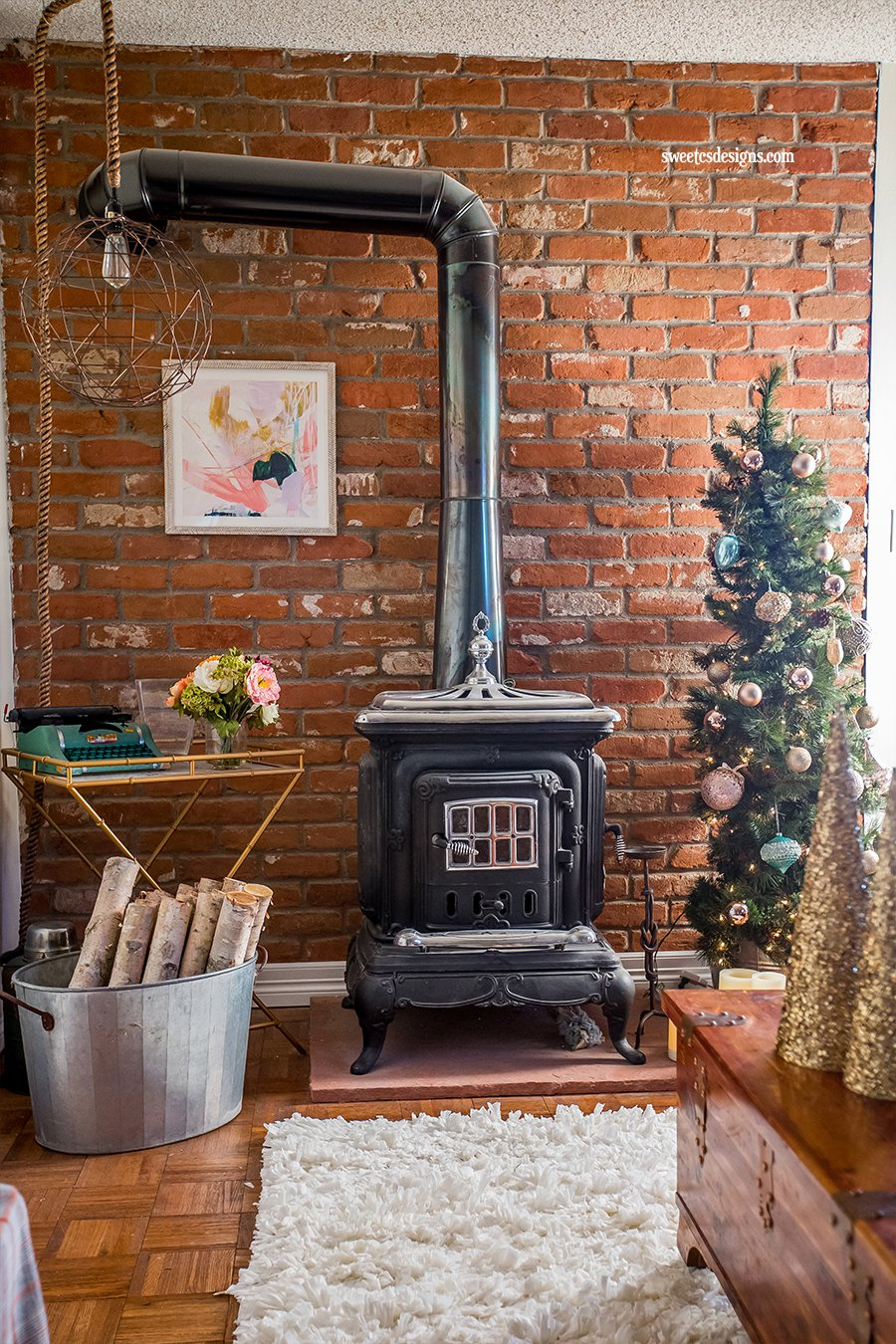 Rustic Glam Christmas Office + The Creative Corner #77 ...