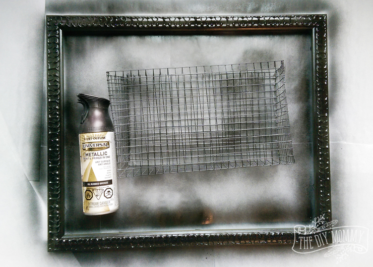A shabby chic message centre from a chippy old door - read the instructions here on thediymommy.com.