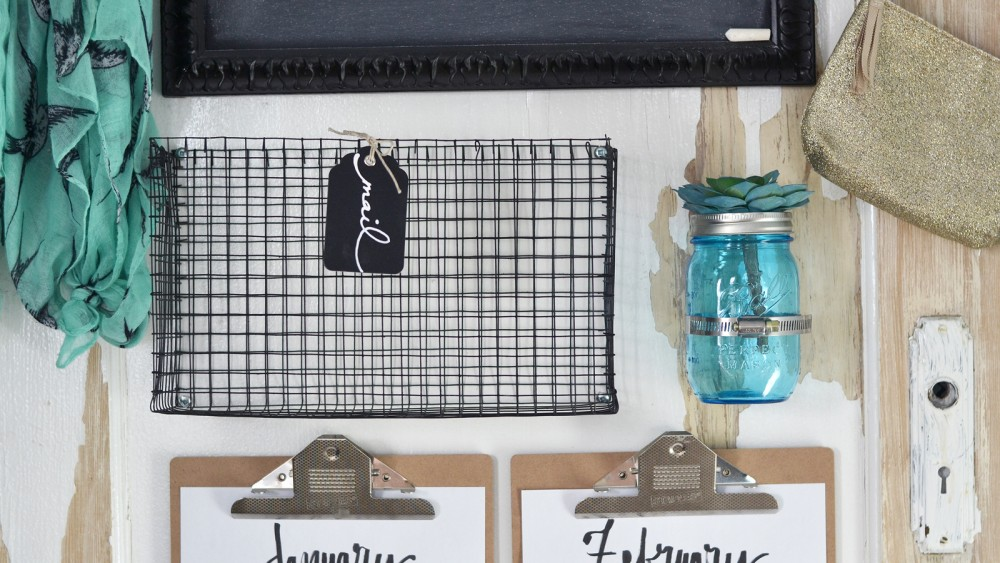 How to make DIY wire mesh baskets of any size - video tutorial!