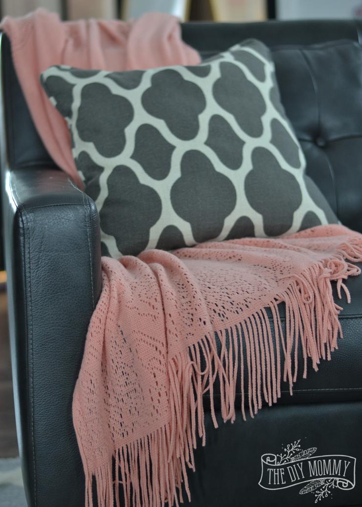 Black Blush Pink Valentine S Day Home Decor Ideas Diy Pom Pom